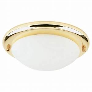 Sea gull lighting light polished brass fluorescent