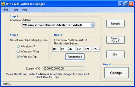 how to change mac address on iphone win 7 mac address changer
