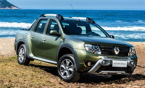 renault duster renault duster oroch pick up truck launched in brazil