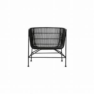 Lounge Sessel Rattan : house doctor coon rattan lounge chair black living and co ~ Frokenaadalensverden.com Haus und Dekorationen
