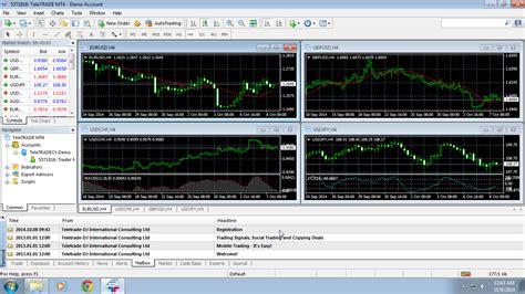 Meta4 Demo Account by Metatrader 4 Installation For Windows Teletrade