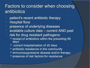 Antibiotics