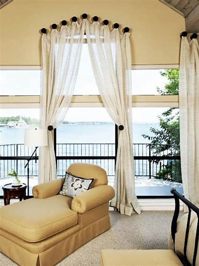 Window Bedroom Treatments Treatment Bedrooms Windows Curtain
