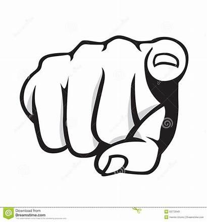 Pointing Finger Clipart Fingers Zeigen Vinger Doigt