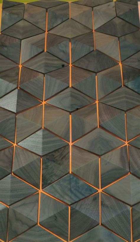 beautiful polygonal home ojects building materials