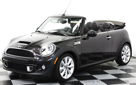 Mini Cooper Convertible Picture by 2014 Used Mini Cooper S Convertible Certified Cooper S