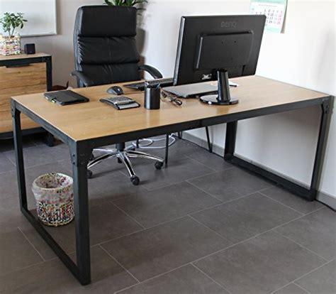 bureau bois et fer la décoration style industriel 5 façons de transformer