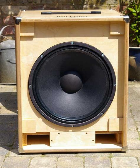 2x10 Bass Cabinet Plans by 1x15 Quot Cab Electrovoice Design Birch Ply Eminence