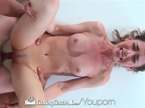Castingcouch X Care Free Kristen Scott Is Eager To Start Porn Career Video