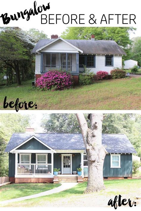 Excellent Design For Before And After Exterior #25750