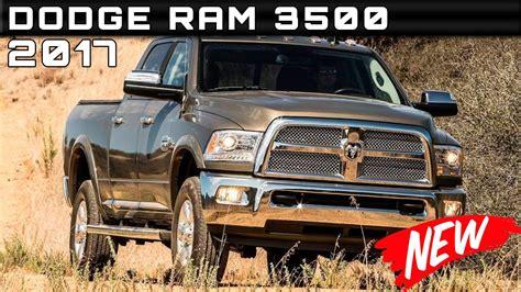 2017 Dodge Ram 3500 Review Rendered Price Specs Release