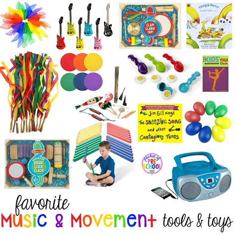 All children benefit developmentally from early exposure to music and movement. Favorite Music and Movement Tools and Toys - Pocket of ...