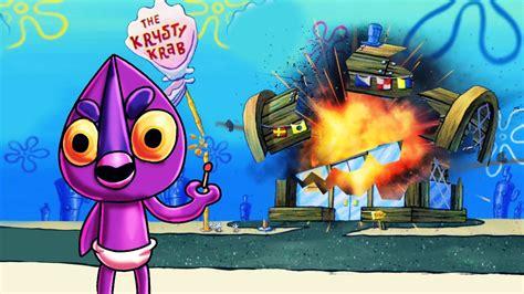 minecraft villains blowing   krusty krab spongebob dimension  minecraft youtube