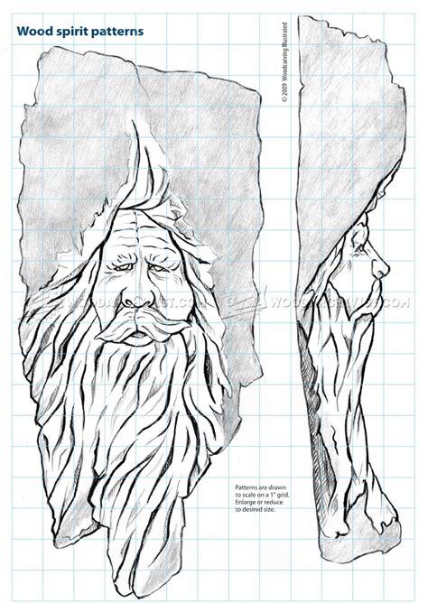 wood spirit carving woodarchivist