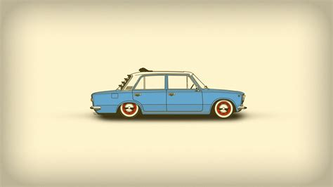 Car Minimalism Simple Art, Hd Artist, 4k Wallpapers