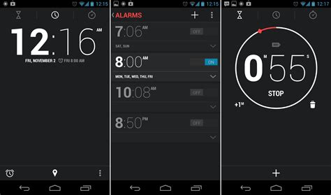 android clock android 4 2 desk clock apk the android soul
