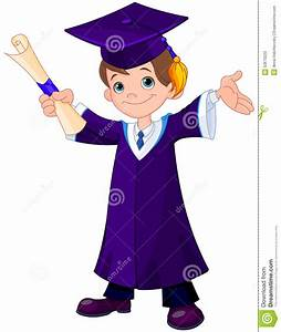 Boy Graduates Stock Vector - Image: 53670223