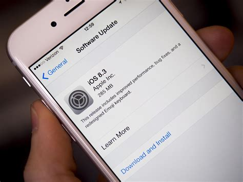 iphone update problems apple releases ios 8 3 to the with performance