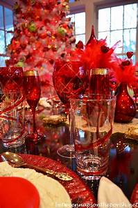 A Valentine's Day Table Setting Tablescape