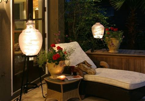 unique patio lanterns create ambiance outdoor patio ideas
