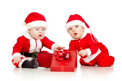Christmas New Year Funny Small Kids Santa Claus Clothes