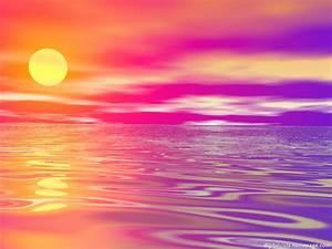 Purple and Pink Sunset Wallpaper - WallpaperSafari