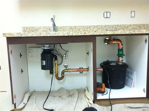 Wet Bar Sink Pump Under Sink Discharge Pump System When A