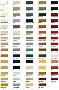 bardage bois massif palette de couleurs With toute les couleurs de peinture