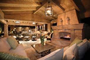 outdoor livingroom this spectacular outdoor room includes a large roof covered living room with a fireplace and an