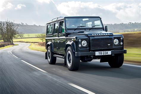 Land Rover Defender Review by Land Rover Defender 110 Station Wagon Review Parkers