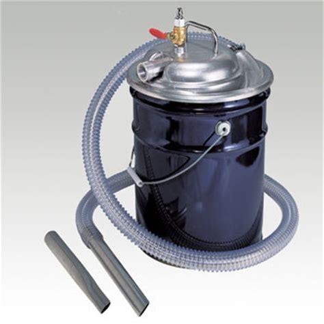 blowback cleaner blovac air vacuum pump  pails