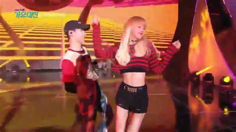 blackpink lisa street dance sbs gayo daejun