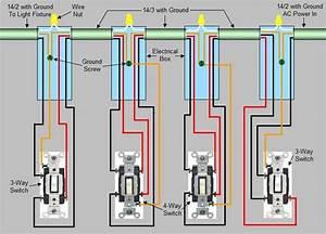 Four Way Switch Diagram