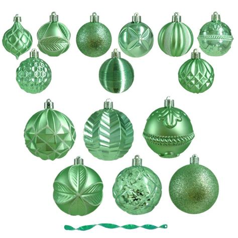 martha stewart living winter wishes ornament assortment in