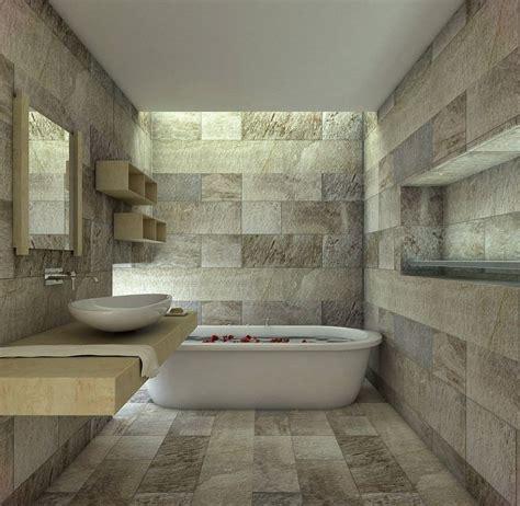 salle bain carrelage mural sol naturelle