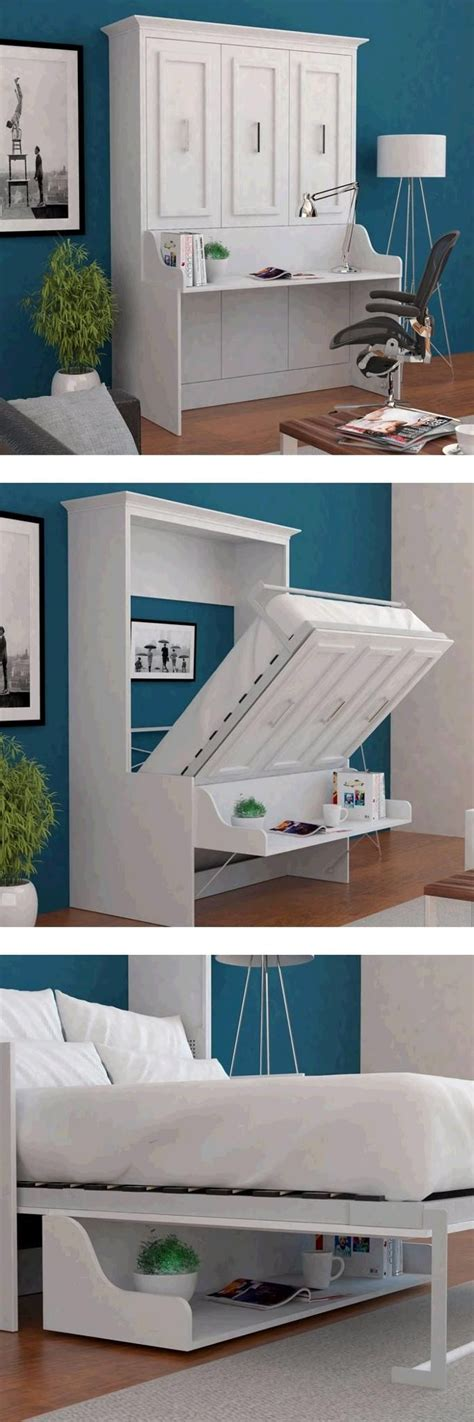 bed with built in desk the porter full wall bed with a desk built in is a truly