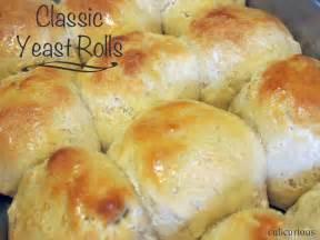 Homemade Yeast Bread Rolls Recipe