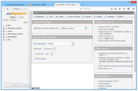 xampp  descargar  windows filehorsecom