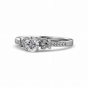 freya diamond butterfly engagement ring diamond With work wedding rings