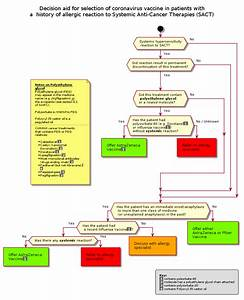 Chemo Org Uk Building The Vaccine Allergy Flow Chart