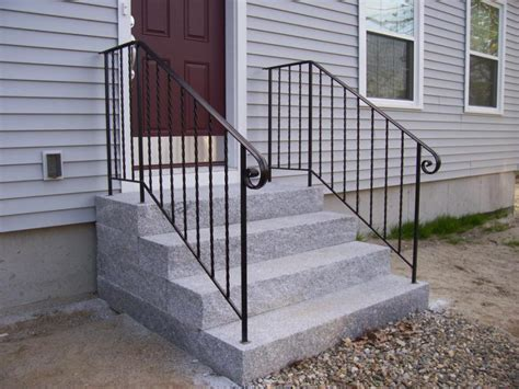 metal porch railing find the right mobile home steps or stairs for you