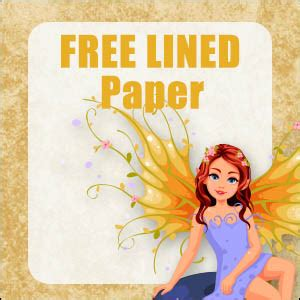cute fairy stationery  printable  paper  publishing