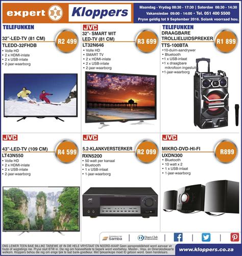 kloppers weekly specials  sep   sep  find
