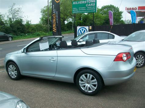 vw eos  convertible kilverstone cars  cars thetford
