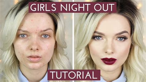 Acne Coverage // Girls Night Out Makeup Tutorial