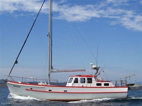 44 Foot Boats For Sale by 44 Foot Custom Huon Pine Motorsailer Sailing Boats