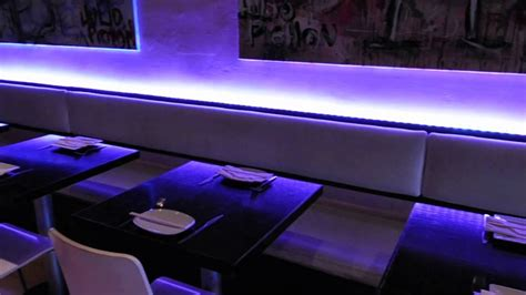 bar and restaurant led lighting solutions