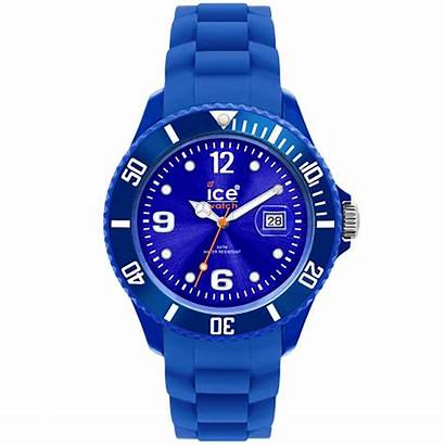 Montre Ice Silicone Bleu Forever Cleor Montres