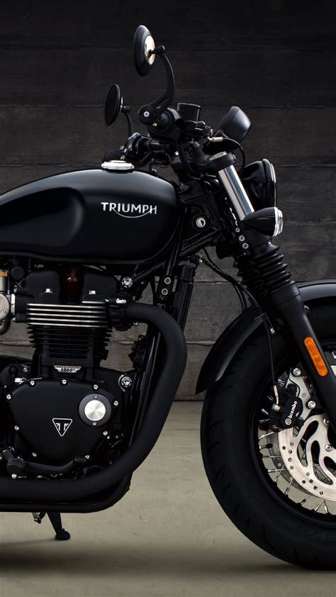 Triumph 4k Wallpapers by Wallpaper Triumph Bonneville Bobber 2018 Hd 4k