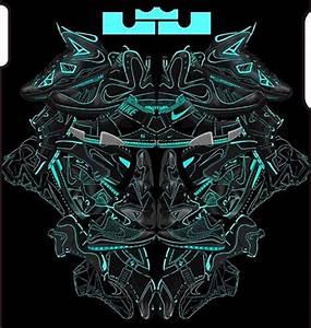 LeBron James Spirit Animal Sneaker Illustration | hui yuan ...